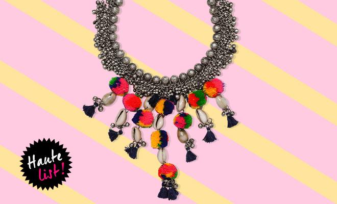 Zara Pompom & Bead Necklace_Editors Pick_Hauterfly