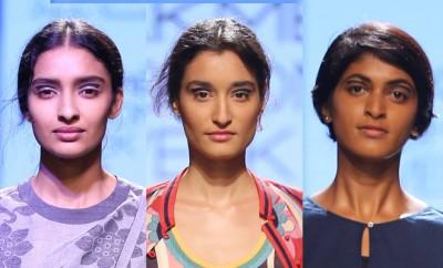 Amrich Debashri Samanta Swati Vijaivargie Beauty Look LFW SR16_Hauterfly