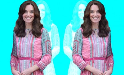 Kate Middleton wearing Anita Dongre Gulrukh Dress_Hauterfly