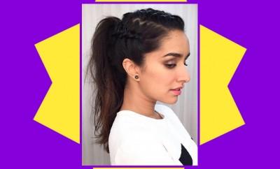 Shraddha Kapoor Braided Ponytail_Hauterfly