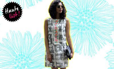 Quirkbox-shift dress-Hauterfly