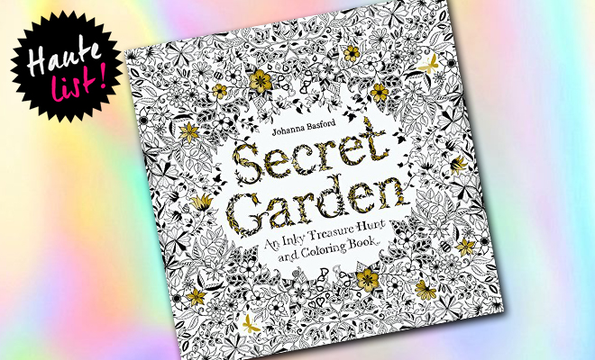 Secret Garden An Inky Treasure Hunt and Coloring Book_Hauterfly
