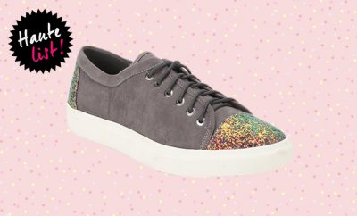 Dorothy Perkins Grey Casual Sneakers_Featured_Hauterfly