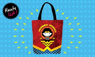 Wonder Woman Tote Bag_Ed's Pick_Haute List_Hauterfly