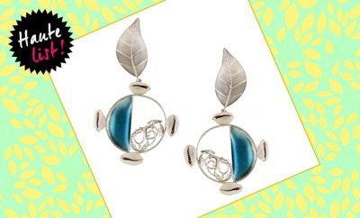 Silver Earrings By Suhani Pittie_Hauterfly