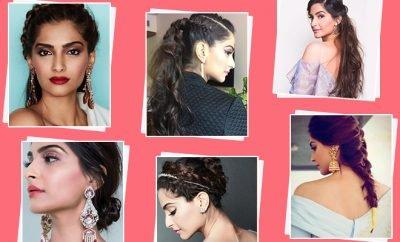 Sonam Kapoor Hairstyles_Featured_Hauterfly