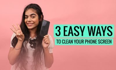 3 Ways To Clean Phone Screen_Hauterfly