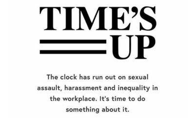 Times Up Anti Harassment Campaign