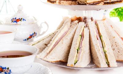Chicken Salami Tea Sandwich
