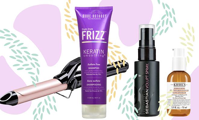 Website- Frizzy Hair