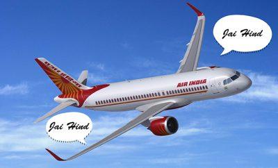Website- Air India Announcement