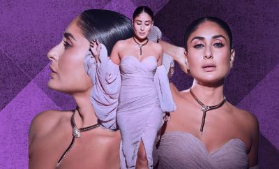 Hauterfly Kareena Kapoor Khan DID Lavender gown 2019