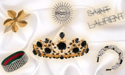 luxury hair accessories