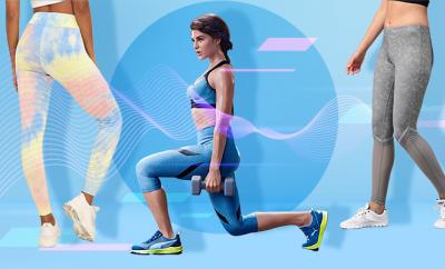 Jaquline Fernandez Workout Wear 2019