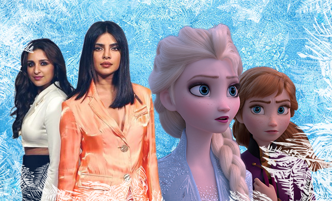 Hauterfly Priyanka Chopra Parineeti Chopra Frozen 2