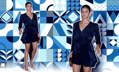 Hauterfly Alia Bhatt Bhaane Dress