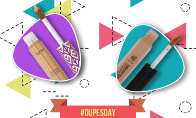 Dupesday-tarte shape tape concealer and pac spotlight concealer