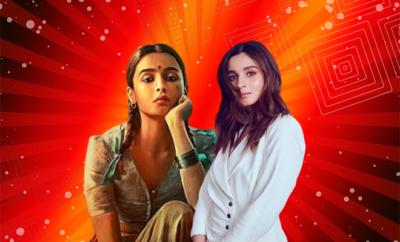 Alia Bhatt Gangubai Kathiawadi First Look 2020