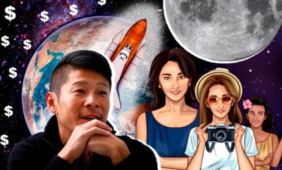 Japanese-billionaire-seeks-girlfriend-for-Moon-voyage-on-SpaceX-rocket-660-400-hauterfly