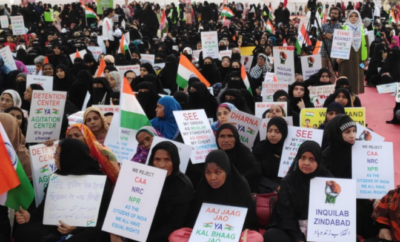 Shaheen Bagh inspired protests women