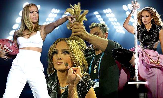 Jennifer Lopez Super Bowl Halftime Beauty Look 660 400 hauterfly