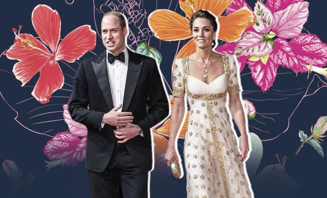 Hauterfly Kate Middleton BAFTAs 2020 In Alexander Mcqueen