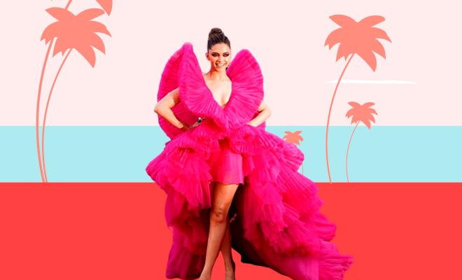 deepika-Lost her Cannes Dress