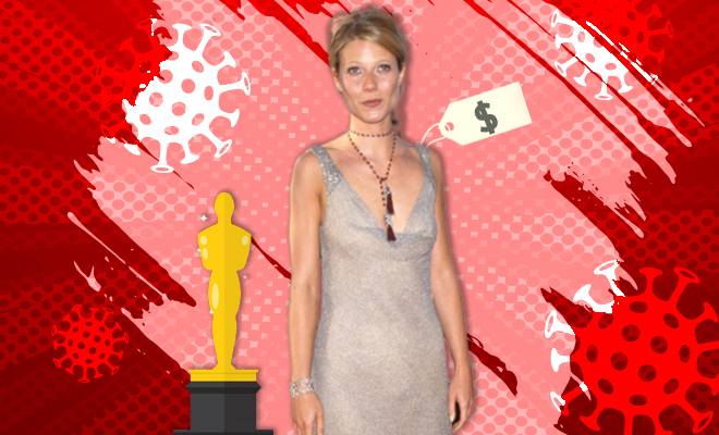 FI Gwyneth Auctions Her Oscars Dress For Covid Relief