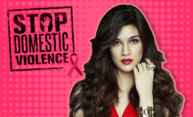FI Kriti Sanon Pens A Poem On Domestic Violence