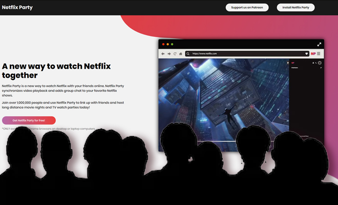 FI Netflix's Party Extension Is So Much FunFI Netflix's Party Extension Is So Much FunFI Netflix's Party Extension Is So Much Fun