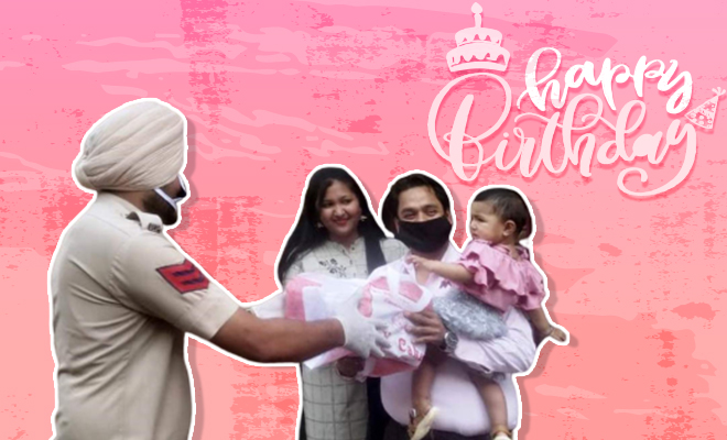 FI Punjab Cops Put The Sweet In Birthdays (1)