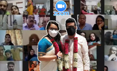 FI Kerala Couple Got Married, Mangalsutra Came In Mail