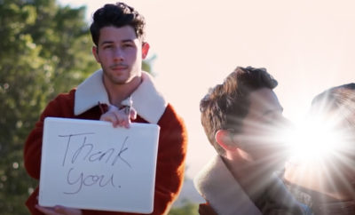 FI Nick Jonas' Dedication To Covid Fighters