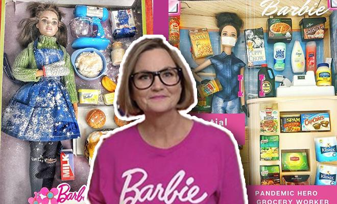 FI Barbies As Essential Workers. We Love
