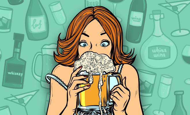 FI Women Drank More Than Men During Lockdown