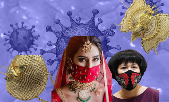 Golden Masks. Expensive But Useless