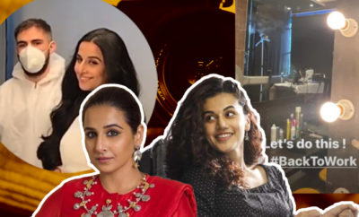FI Actresses Go Back To Work, Follow Safety Norms