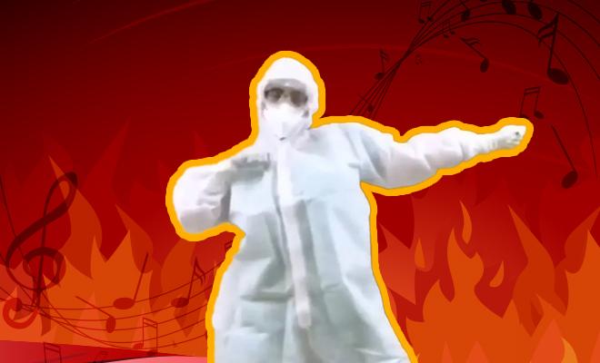 FI Doctor Dances Coronavirus Blues Away