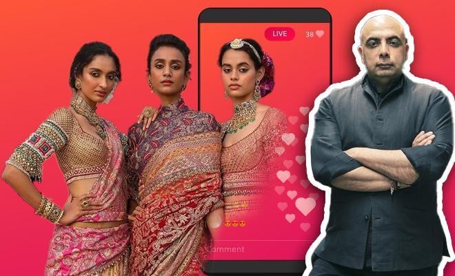 FI Tarun Tahiliani Hosts Digital Fashion Show