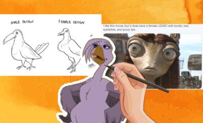 FI The Sexualisation Of Female Animated Animals