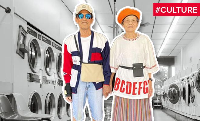 FI The Fashionable Grandparents Of The Laundromat