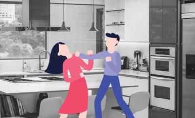 Mans Thrashes Wife Help In Kitchen