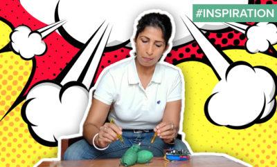 FI Woman Develops Safety Grenade