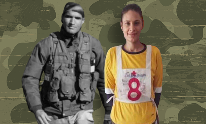 Wife joins army to fulfil last wish