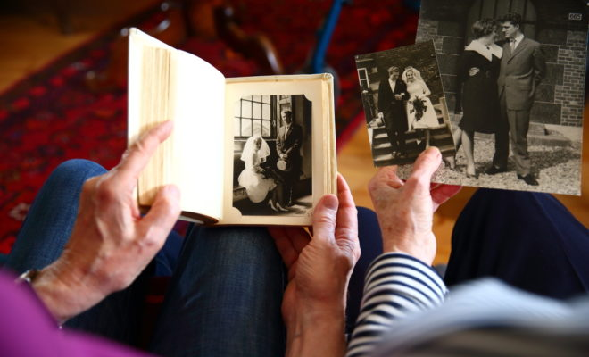 photos of old man and woman