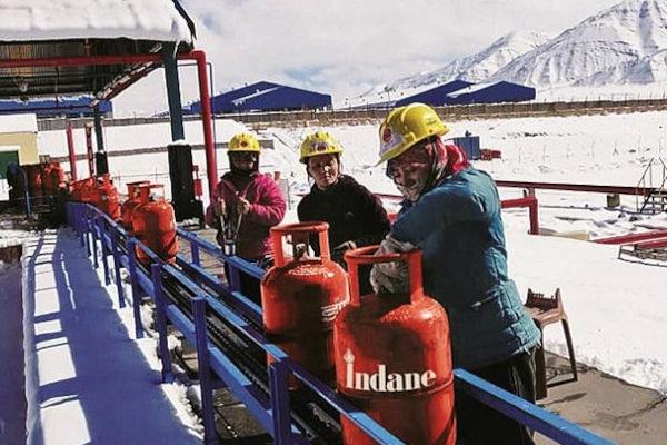 All women LPG plant team