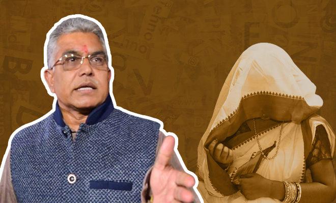 BJP-Bengal-Chief's-Shocking-Remark-On-Legs