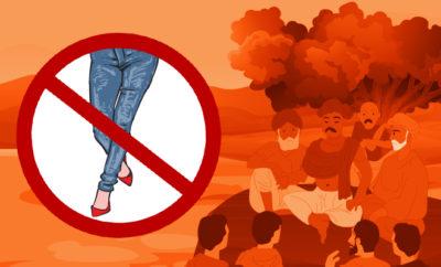 Fl-UP-Khap-Panchayat-Bans-Jeans-For-Women,-Shorts-For-Men