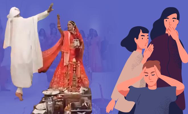 Fl-Video-Of-Desi-Couple-Dancing-For-Joy-While-Taking-Saat-Phere,-Sparks-Debate-Online