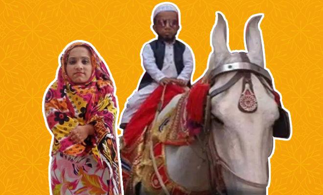 FI-2.5-feet-tall-Azeem-Mansuri-gets-engaged-to-girl-from-Hapur